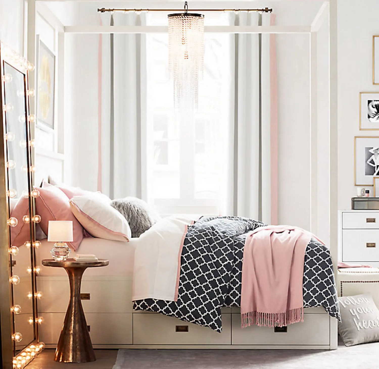 13 Things Your Tiny Apartment Needs From Restoration Hardwares New Teen Line  Glamour