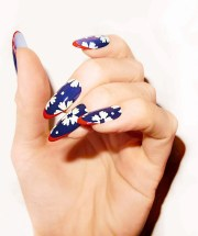 nail art design and polishes