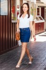 Woman Polo Shirt Outfit