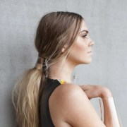 1 trend 4 ways beachy ponytail