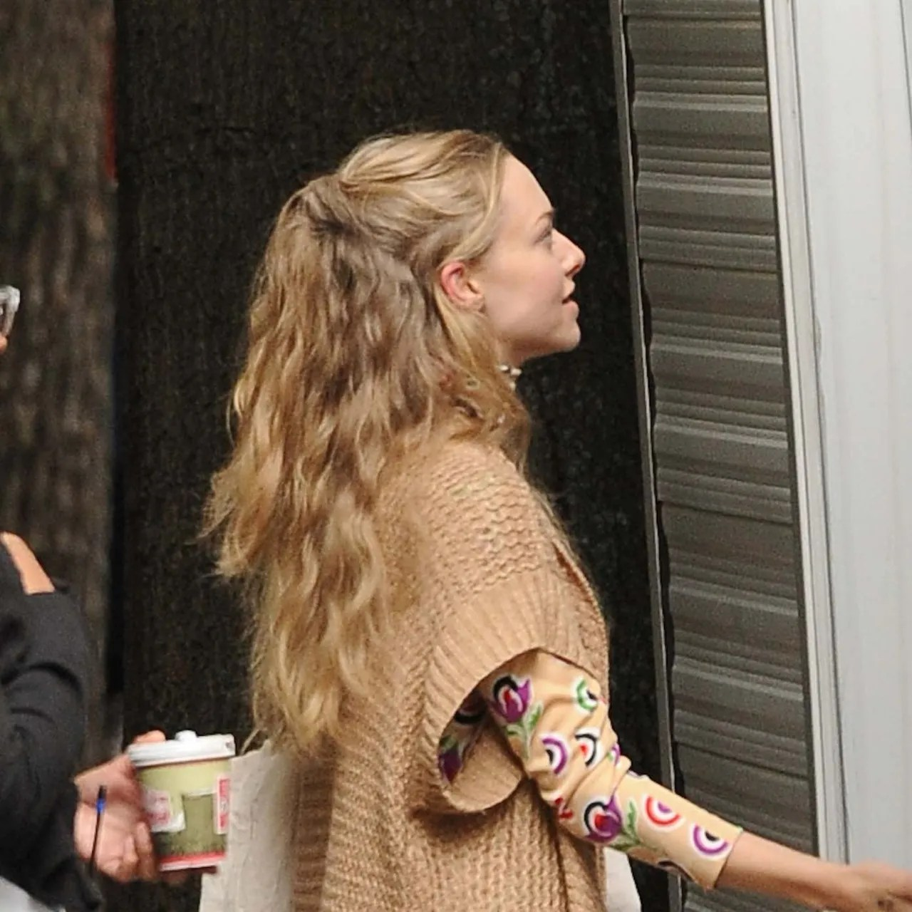 LOVING This Cute Easy HalfUp Hair Idea on Amanda Seyfried Here  Glamour