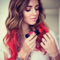 How to Do Temporary Hair Color for Halloween   Glamour