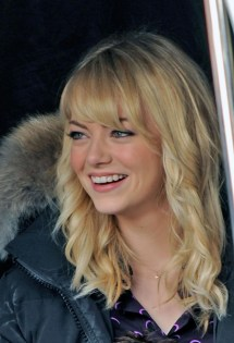 Spider-Man Emma Stone Blonde Hair Color
