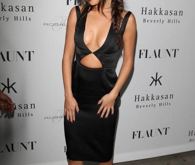 Selena Gomez Inner Boobs Makeup