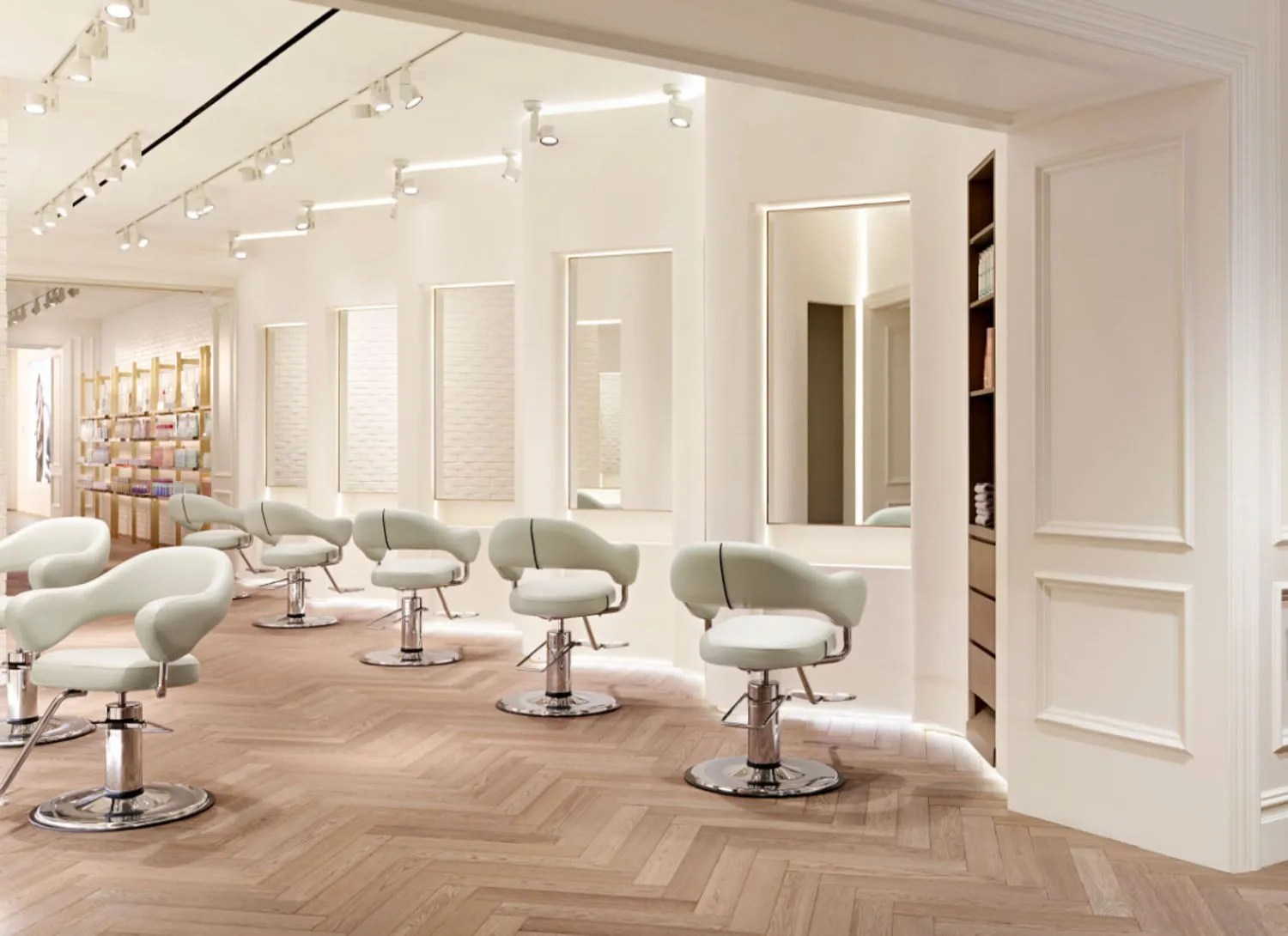 The Nexxus Salon Opens With a Special Lighting Concept in
