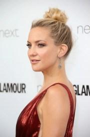 celebrities wear messy bun hairstyles