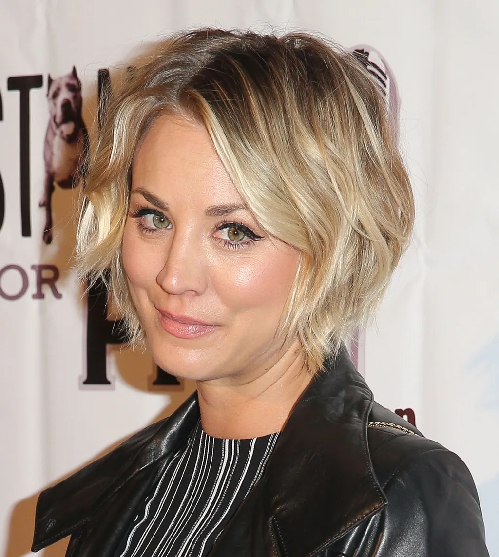 How Kaley Cuoco Bypassed The Awkward Stages In Growing Out Her