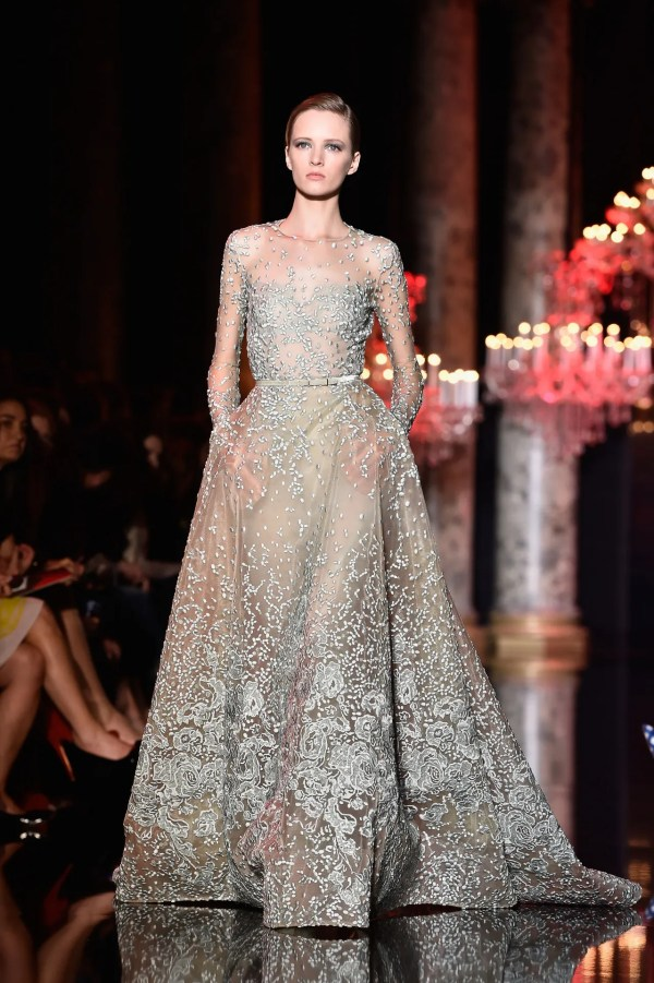 Elie Saab Couture Wedding Dresses Gowns; Paris