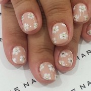 nail ideas bridesmaids glamour