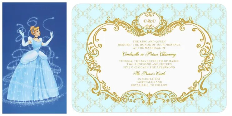 cinderella invitation to the template - 28 images - best 25 ...