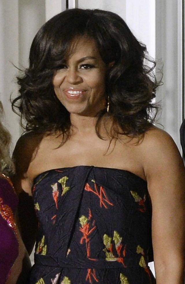 michelle, malia and sasha obama's hair stole the show at the
