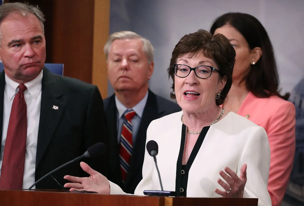 Prominent Republican Senator Susan Collins Is Refusing to Support Dona | Glamour