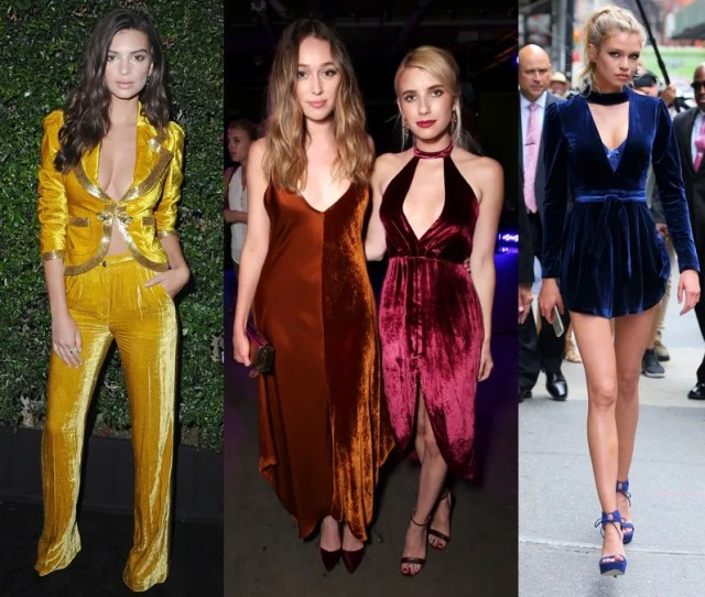 Bold Color Velvet Is The Fall Trend You Can Wear Now