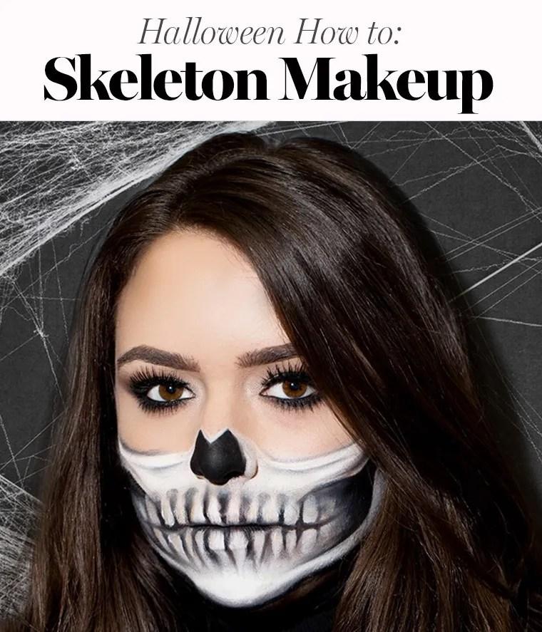 Easy Skeleton Makeup Tutorial Perfect