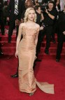 Scarlett Johansson Red Dress Golden Globes