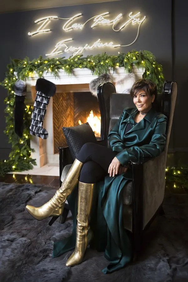 See Kris Jenner S Christmas Decorations Glamour