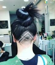 diamond haircut design - haircuts