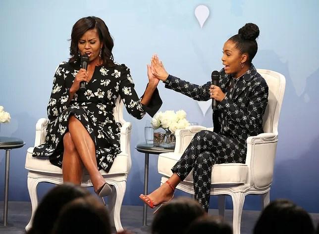 Michelle Obama Wrote Black-ish Star Yara Shahidi the College ...