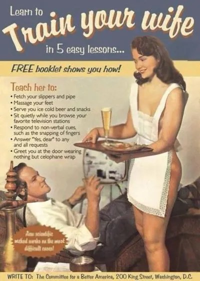 Image result for reverse sexist ads