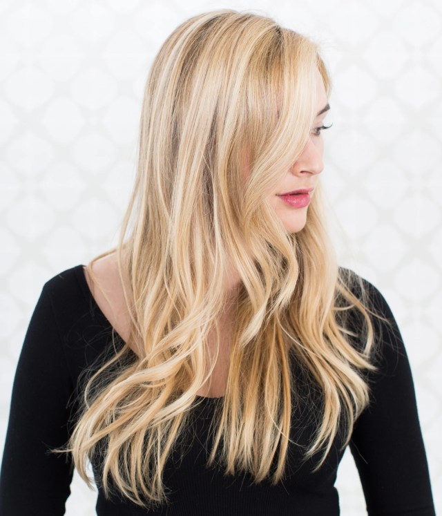 how to fix brassy highlights on blond hair | glamour