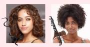 figure curly hair