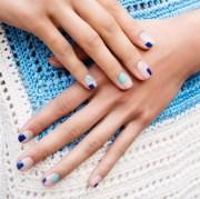 cute mismatched nail art ideas