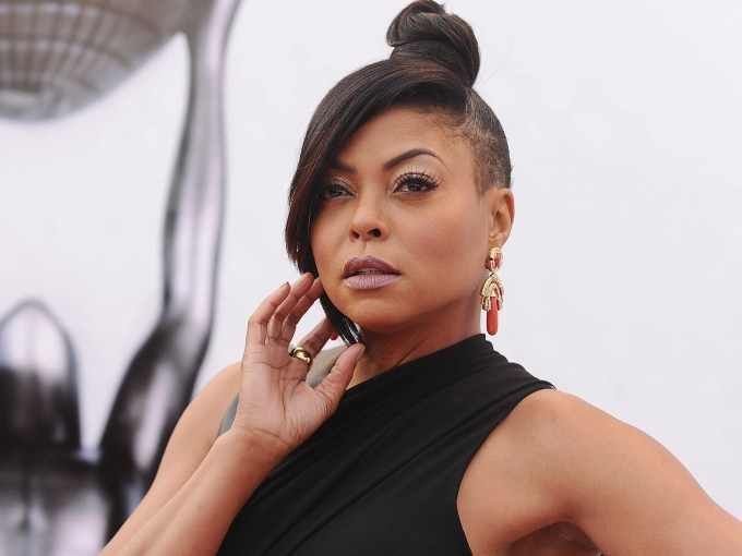 taraji p. henson's natural curls are everything, as is the