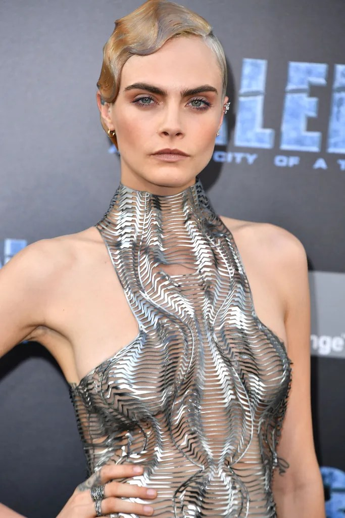 Cara Delevingnes Best Buzz Cut Hairstyles  Glamour