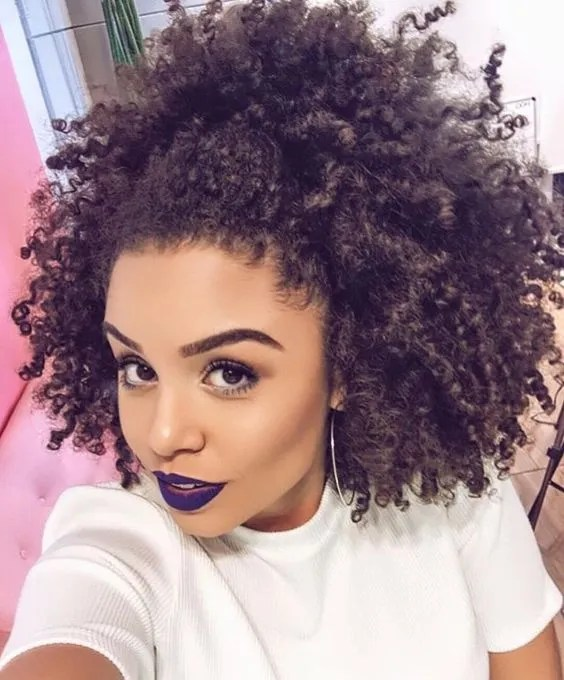 These Are Pinterests Top 10 Natural Hair Styles  Glamour