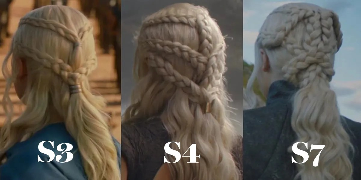 Theres a Hidden Meaning Behind Daenerys Braids on Game of Thrones  Glamour