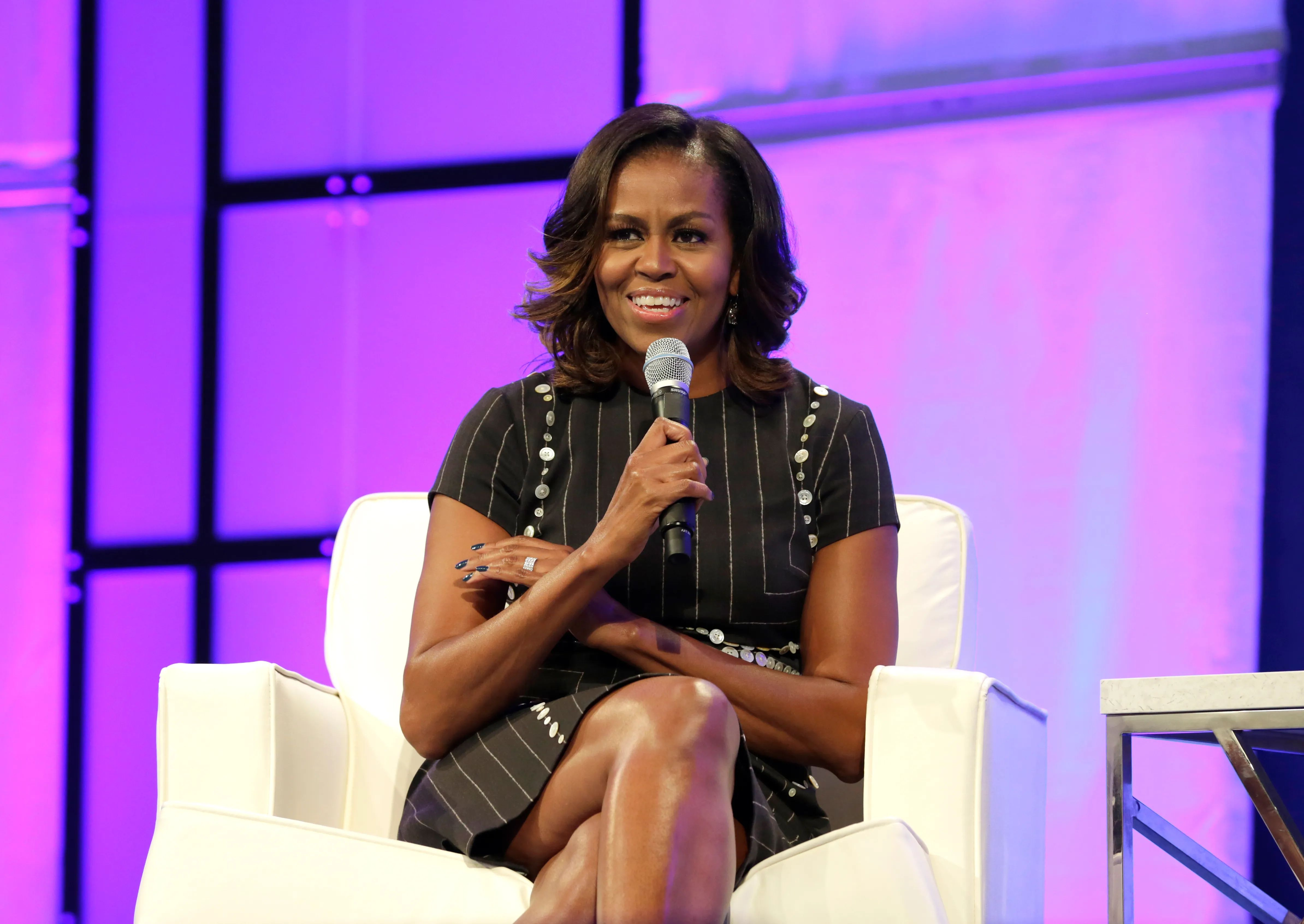 Prodigious! Michelle Obama Says Men Can't Be Bystanders When It Comes To Sexual Misconduct