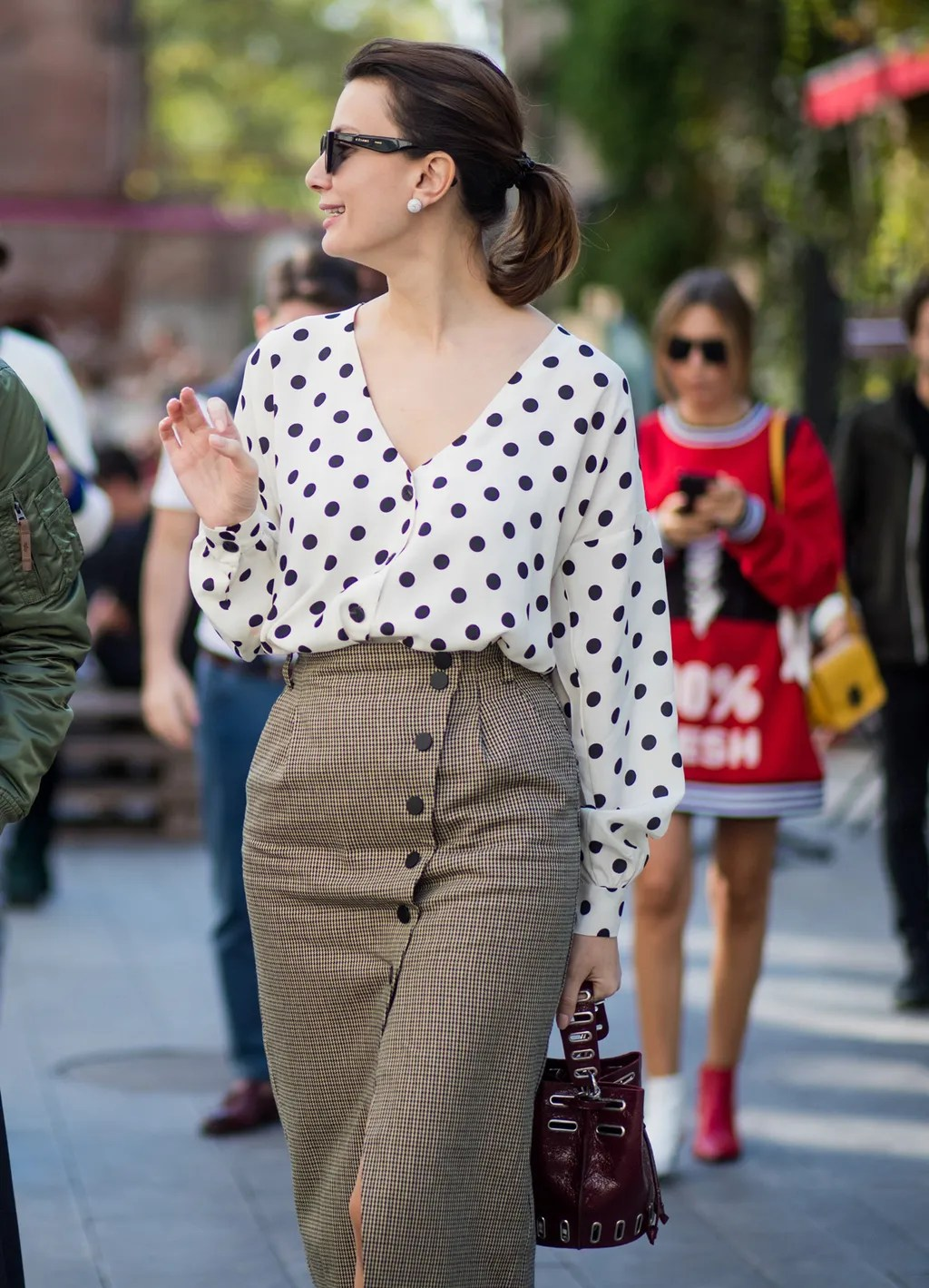 Spring 2018 Wardrobe Essentials: Polka-Dot Top