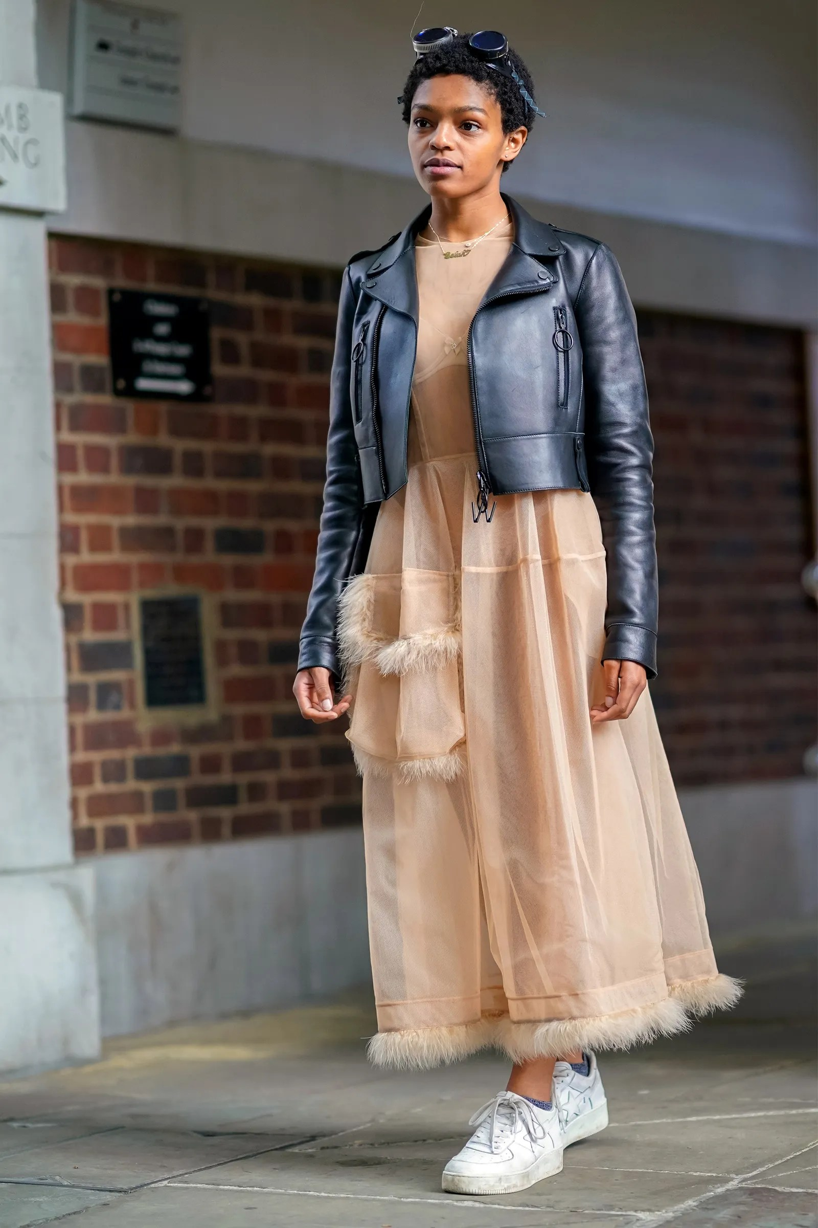 Outfit Ideas How to Wear Sneakers With a Dress  Glamour