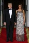 State Dinner Dress Melania Trump