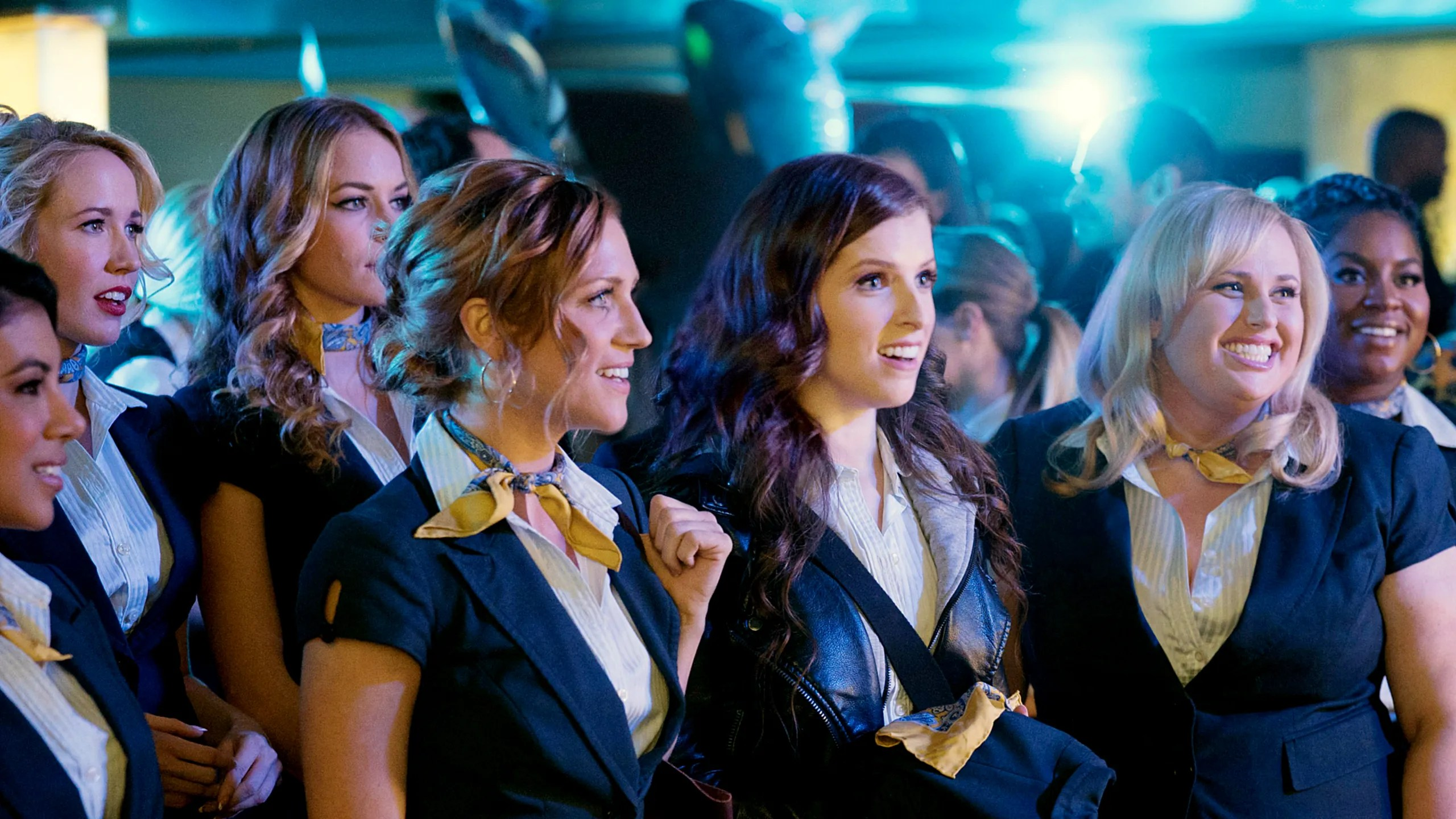 the pitch perfect women