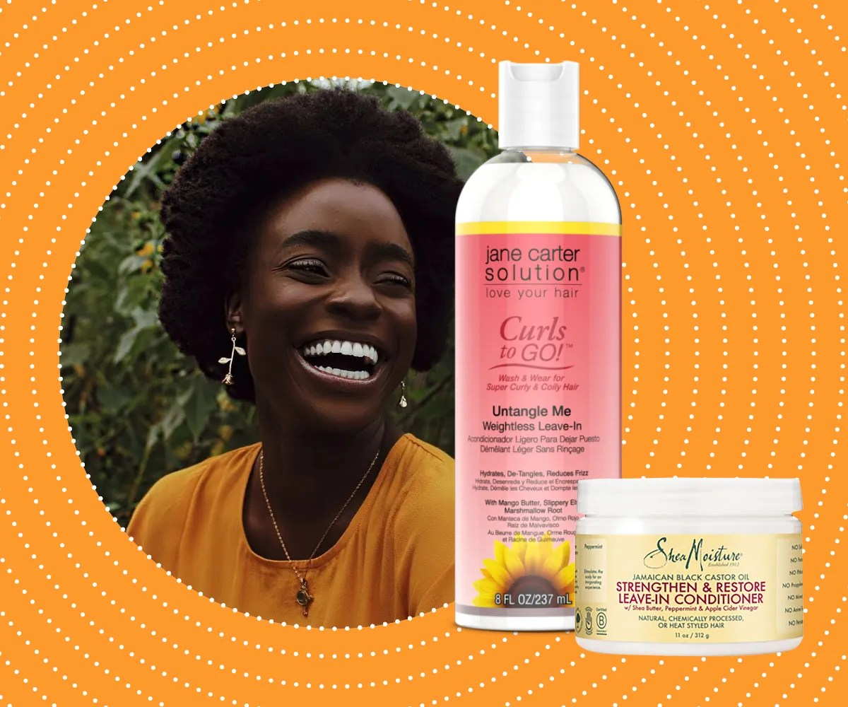 15 Best Leave In Conditioners For Curly And Natural Hair Glamour