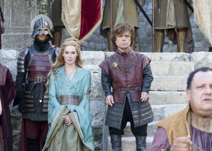 Cersei and Tyrion Lannister in season 2