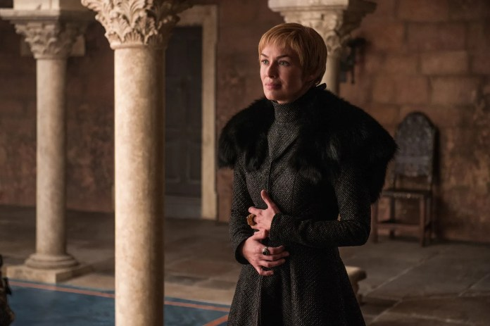 Cersei Lannister during Game of Thrones season 7