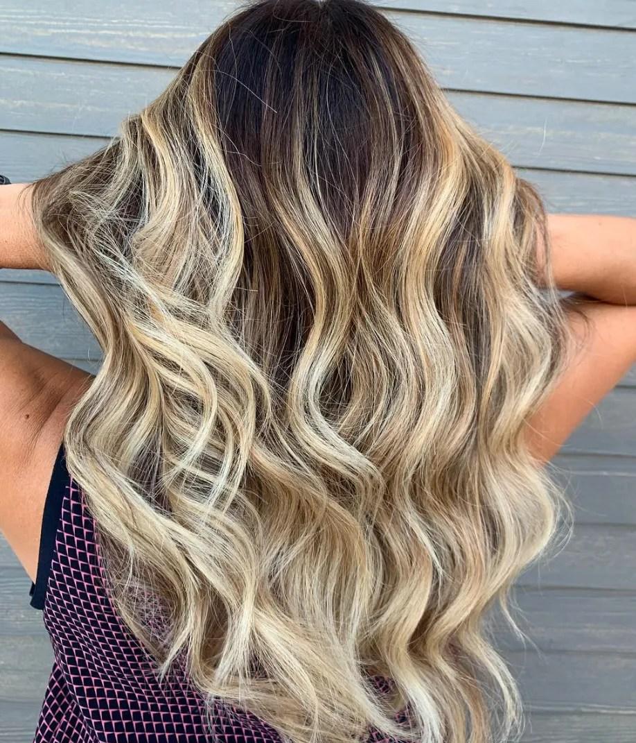 29 pretty balayage hair