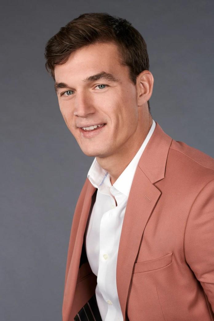 Tyler C. on The Bachelorette.