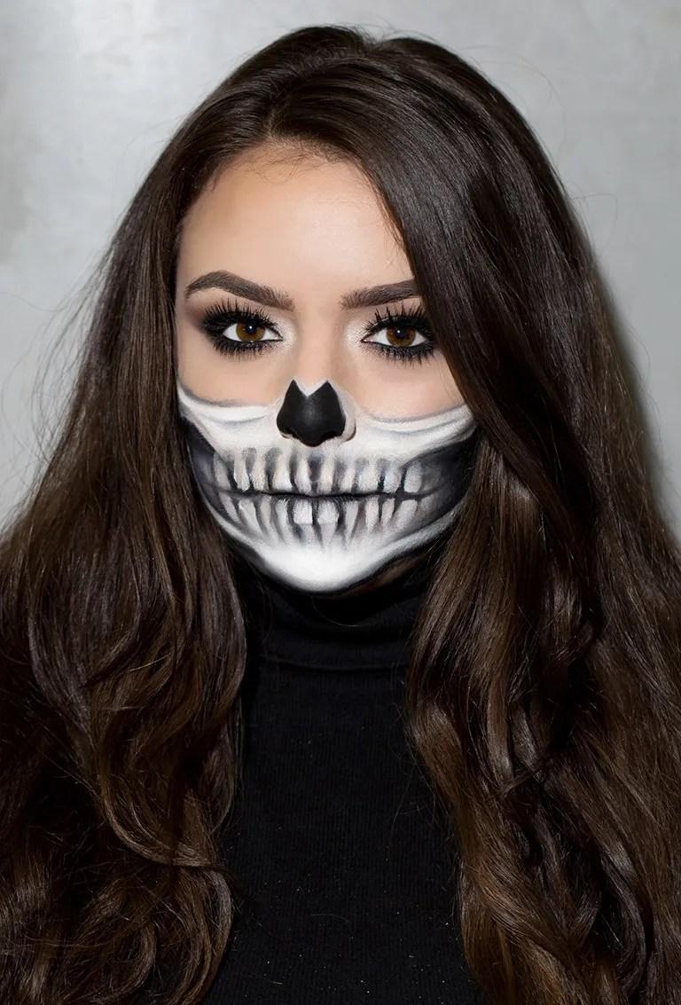 Easy Grim Reaper Makeup : reaper, makeup, Skeleton, Makeup, Tutorial:, Perfect, Skull, How-To, Glamour