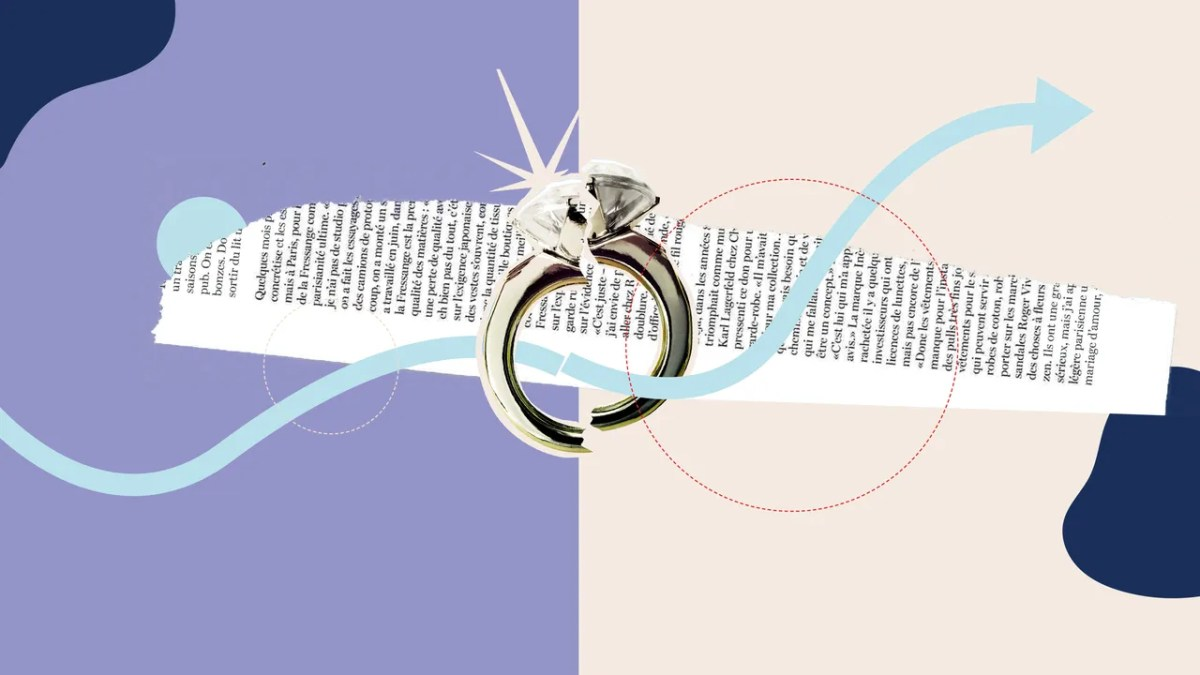 A new slate of romance novels focuses on couples whose marriage is in