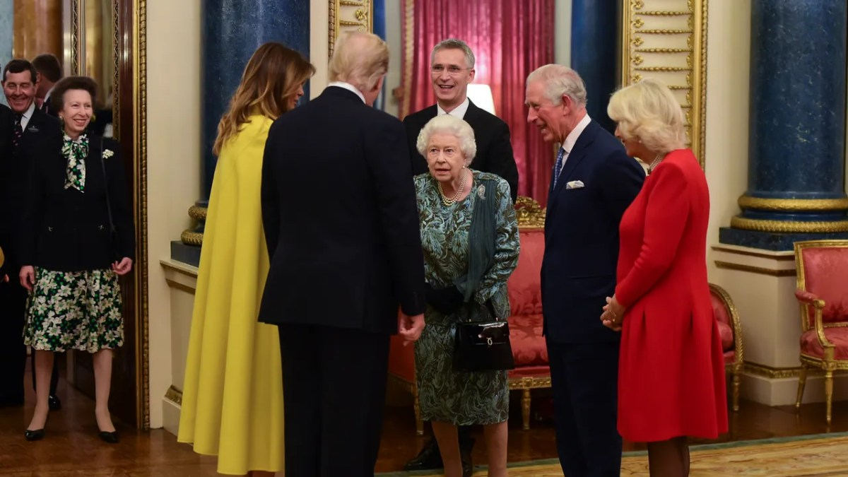 She also appears to get scolded by her mom, the queen, in a new