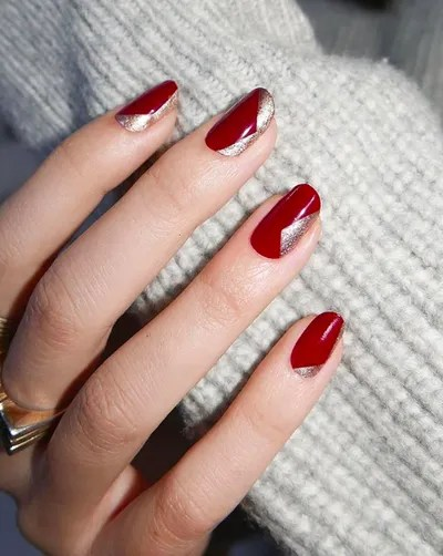 Red And Gold Christmas Nails : christmas, nails, Christmas, Holiday, Designs, 2020:, Festive, Ideas, Glamour