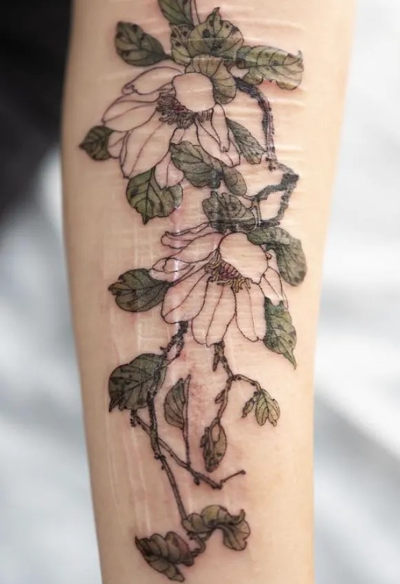 Bad Flower Tattoo : flower, tattoo, Gorgeous, Flower, Tattoos, Designs, Glamour
