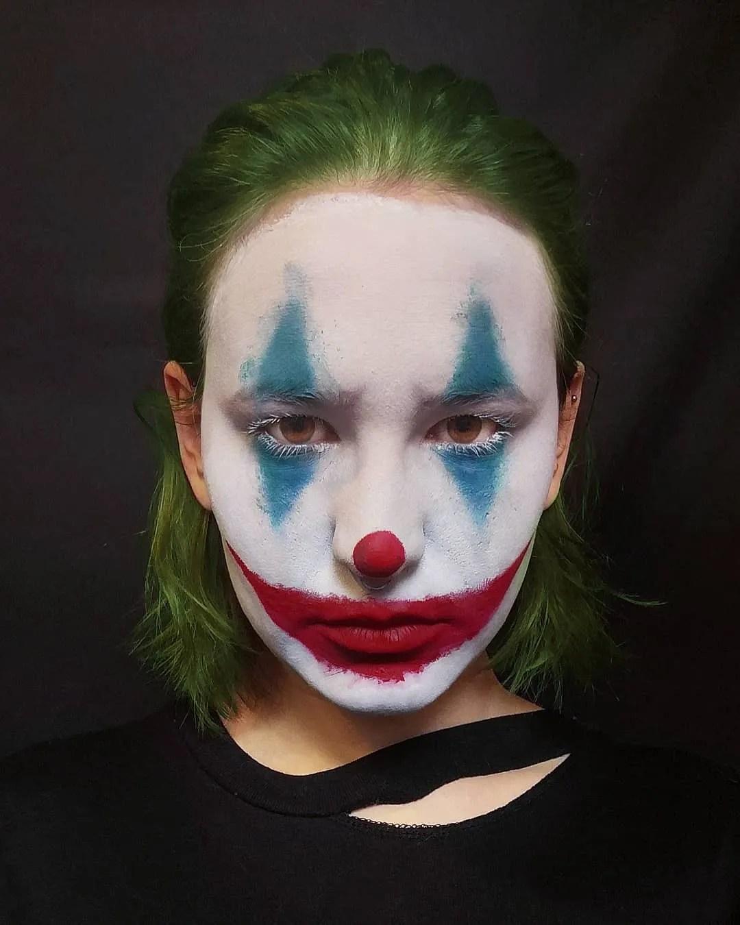 Clown Face Paint Ideas : clown, paint, ideas, Halloween, Makeup, Ideas, Instagram, Glamour