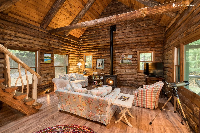 Adirondack Cabin Rental Tupper Lake Vacation Cabin Rental