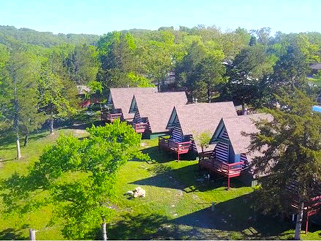 A Frame Cabin Rental In Branson Missouri