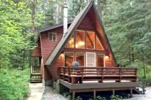 A Frame Cabin Washington