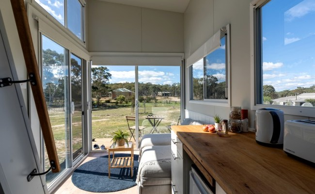 Tiny House Rental On A Horse Farm Glamping Near Canberra
